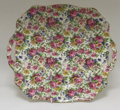 Vintage Royal Winton Grimwades Chintz Summertime Cake/ Bread And Butter Plate • 9.99£