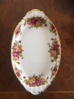 Royal Albert Old Country Roses Pattern Serving Dish • 2.99£