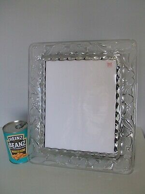 Large Signed Waterford Crystal Marquis Photo Picture Frame • 39.99£
