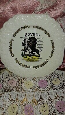 Bovril Drink Victorian Advertising Old Advert Plate Vintage Lord Nelson Pottery • 20£