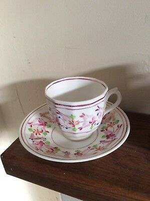 Cup And Saucer Made Of China • 8.04£