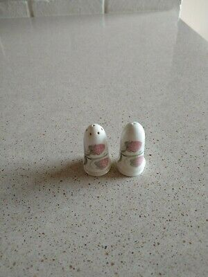 Susie Cooper Wild Strawberry Salt And Pepper Pots. • 16£