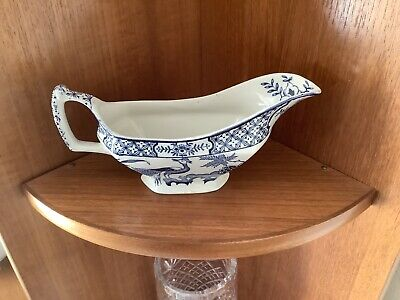 Wood And Sons Sauceboat, Yuan Pattern • 9£