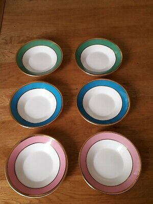 Princess Royale Fine China Saucers  In 3 Colours X 6 • 4.95£