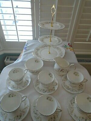 Vintage Duchess Caprice Teaset/3 Tiered Cake Stand Perfect For A Wedding • 29.99£