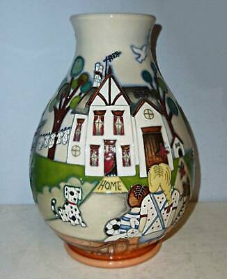 Fabulous MOORCROFT Limited Edition Vase - A NEW START By Nicola Slaney For NSPCC • 349.95£