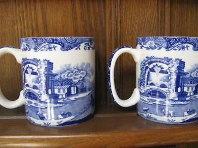 SPODE BLUE ROOM Italian COLLECTION  2 X   Mugs • 24.50£