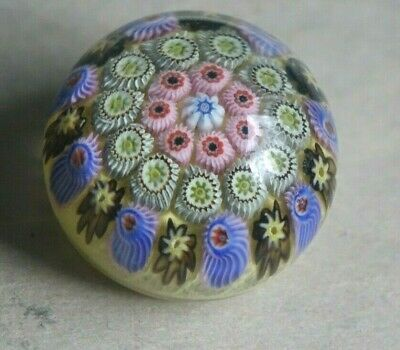 Mini Strathearn Art Glass Paperweight Various  Canes • 3.70£