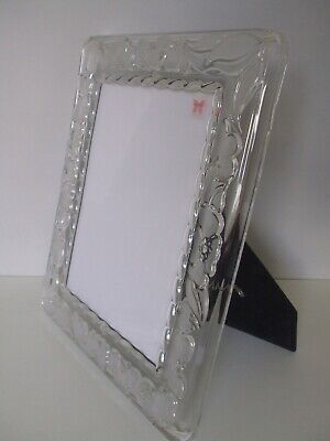 Large Signed Waterford Crystal Marquis Photo Picture Frame Desk Easel • 39.99£
