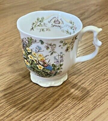 ROYAL DOULTON Brambly Hedge Spring Beaker Gift Collection Bone China Mug • 9.50£