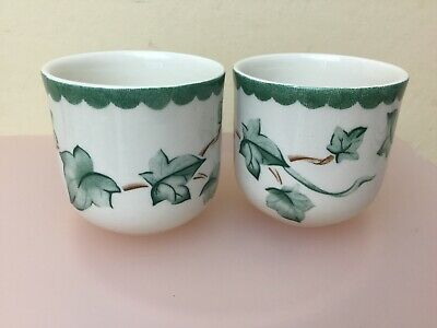 BHS Country Vine 2 X Egg Cups Lovely Condition • 6.99£