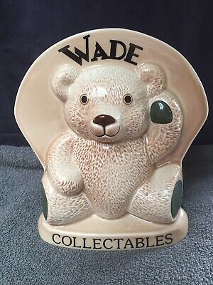 Wade Collectables Swap Meet 1998 Teddy Ornament Excellent Condition • 25.99£