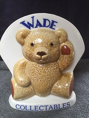 Wade Collectables Ripley 1998 Teddy Ornament Excellent Condition • 25.99£