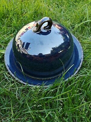 Bhs   Brecon   Navy Cheese Dome Dish/Butter Dish  • 9.99£