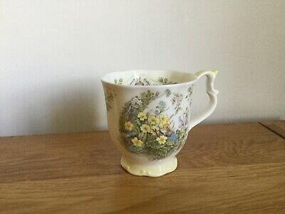 ROYAL DOULTON Brambly Hedge 'Spring' Beaker Gift Collection Bone China Mug • 8£