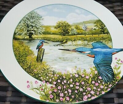 Royal Doulton Limited Edition  The Riverside Kingfisher  By Kenneth J Wood 1989 • 2.50£
