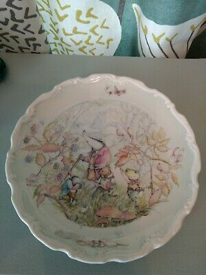 Royal Doulton Plate Wind In The Willows 1984 • 7.50£