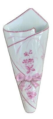 H.A.&C 349 Vintage Wall Pocket Vase 300mm X 115mm • 12£