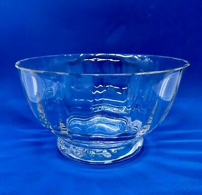 1980's Dartington Glass Frank Thrower  Glass Bowl • 12.50£