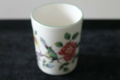Old Foley James Kent Ltd  Chinese Rose  Pot With Green Edge • 12£