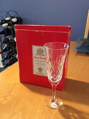 Royal Brierley Crystal Champagne Flutes 6 Brand New  In Box • 72£