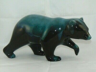 Vintage Blue Mountain Pottery Large Bear Made In Canada Length 27cm • 15£