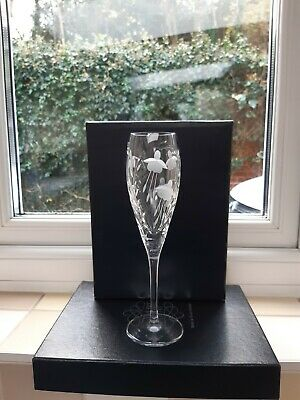 Stuart Crystal Cascade Flute Champagne Glass • 18.95£