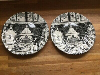 Royal Wessex - Halloween - Witches Brew - Apothecary - Dessert Plates X 2 • 15.99£
