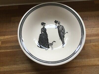 The Victorian English Pottery - Homelab Halloween Large Serving Bowl - Brand New • 24.99£