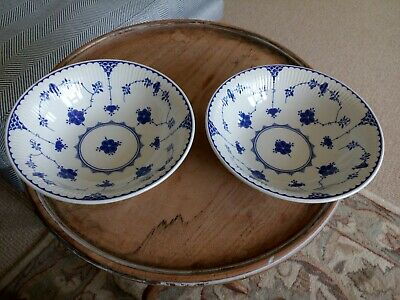 Masons Blue Denmark 6.5  Soup, Cereal Or Dessert Bowl In Excellent Condition • 23.50£