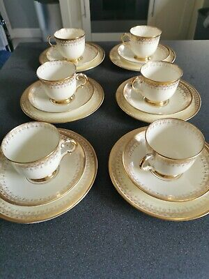 Vintage Plant Tuscan Cups And Saucers • 19£
