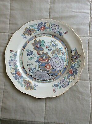 Masons Topaz Blue Dinner Plate 10  Perfect Condition • 10£