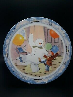 Coalport Characters The Snowman Annual Plate 2005 Raymond Briggs - Nice Gift • 6.99£
