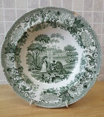 Copeland And Garrett Late Spode Lion In Love Soup Bowl C1833-1847 • 4.99£
