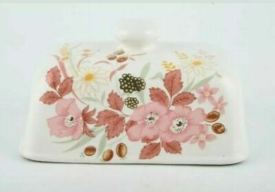 Boots - Hedge Rose - Butter Dish. Lid Only • 12£