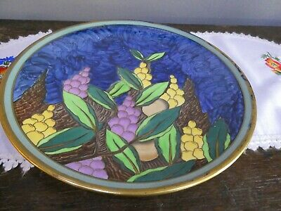 Stunning Vintage Keeling And Co Losol Ware Plate • 23£