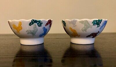 Emma Bridgewater For Howdens Set Of 2 Rooster Chicken Deli / Dip Bowls Limited • 11.99£