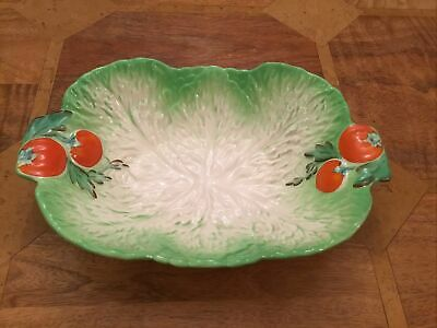 Vintage Beswick Ware Lettuce/Cabbage Leaf And Tomato Salad Dish • 32£