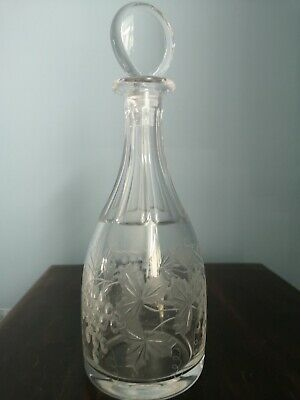 Wiiliam Yeoward Crystal Leonora Grapes Pattern Decanter  • 82.50£