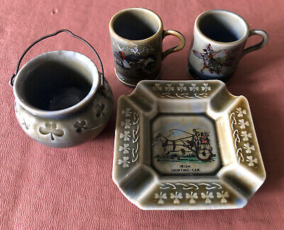 Irish Porcelain - Collection Of Ireland Souvenirs - By Wade • 10£