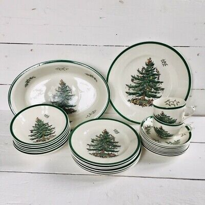 Spode Christmas Tree Dinner Set - Select The Items You Want! • 32£