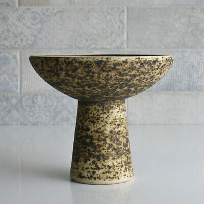 Ceramic Candle Holder. Vintage Dutch Pottery, In The Style Of Pieter Groeneveldt • 16£