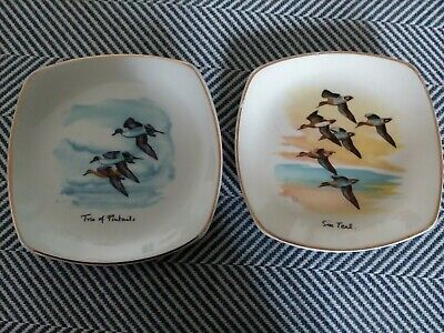 2 X Peter Scott Signed Midwinter Pin Dishes In Good Condition  • 12.50£