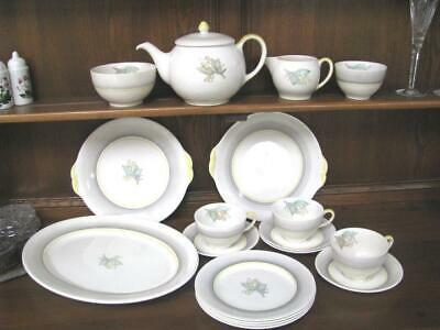 Greys Pottery Lily Of The Valley A8629 Teapot Part Dinner Set & Teapot • 125£