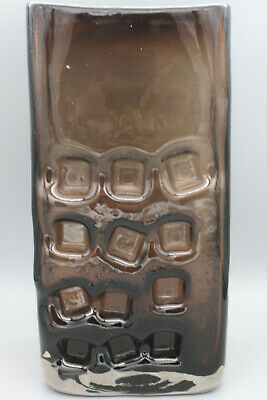 Whitefriars Baxter  #9668 Nuts And Bolts Vase In Cinnamon. Great Condition • 249.99£