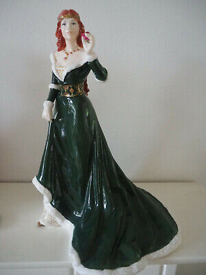 Royal Worcester The Rose Of Camelot Figurine  • 299£