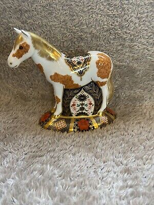 Royal Crown Derby Paperweight  EPSOM FILLY  1st Quality Limited Edition 500 • 220£