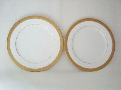 Boots IMPERIAL GOLD Dessert Plates 21.3cm  X2   #A • 14.75£