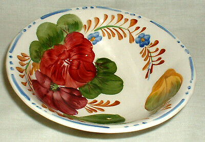 Cobridge Chanticleer    Belle Fiore   6¼  Cereal Bowl / Dessert / Soup • 4.99£