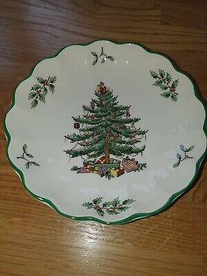 Spode Christmas Tree Dish • 10£